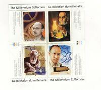 Canada 2000 Millenium souvenir sheet #15,  Unitrade #1832 VFMNH CV $9.00