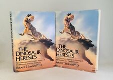 The Dinosaur Heresies-Robert T. Bakker-2 Books-SIGNED!-First/1st Editions!-RARE!