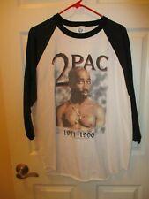 Ultra-Rare vintage 2Pac Tupac baseball style shirt Xl