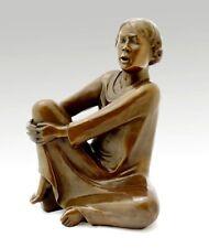 """Moderne Bronze """"Der singende Mann"""" von Ernst Barlach, signiert"""