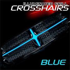 2011-2013 Dodge Durango ORACLE EL Illuminated Grill Crosshairs Insert Blue