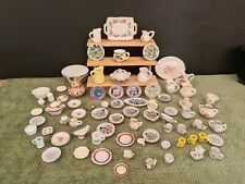doll house accessories job lot 119 assorted  pottery items 1.12th