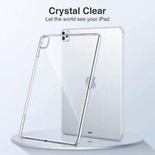 Apple iPad Air 1 2 3 5th 6th 7th 8th Gen Case Cover Transparent Clear Silicone