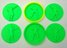 Fortnite Cookie Cutter Stamps Set of 18 stl for 3d printing make your own