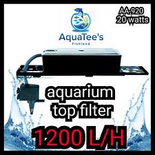 RECENT AA-920 TOP FILTER POND/AQUARIUM WATER PUMP 1200L/H MARINE AQUA FOUNTAIN