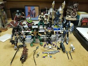 KISS Psycho Circus McFarlane Action Figure Lot Simmons Stanley Frehley Criss