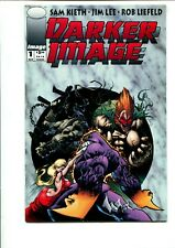 DARKER IMAGE #1 FIRST PRINT (COLLECTORS CARD INCLUDED) VF-