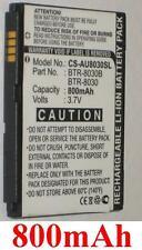 Batterie 800mAh Pour AUDIOVOX BTR-8030 BTR-8030B BTR8045B TXT8030 VZW8030BAT