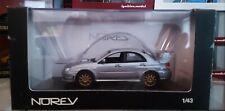 (Rare New) 1/43 NOREV 2006 Subaru impreza WRX STI Silver 4WD JDM