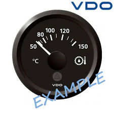 VDO Viewline Transmission Temperature Gauge KIT 52mm 50-150С + 8pin Cable Bezel
