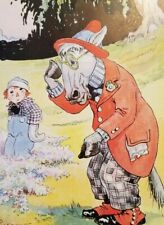 RAGGEDY ANDY WITH THE OLD HORSE 1951 Johnny Gruelle Color Print