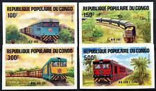 Congo 1984 SG#954-7 Locomotives MNH Imperf Set #A84524