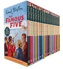 Famous Five 21 Book Boxset Enid Blyton Hardback Childrens Fiction Present