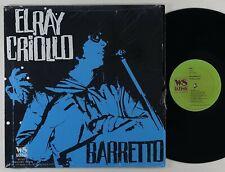 """Ray Barretto """"El Ray Criollo"""" Latin Salsa LP WS Latino Reissue"""
