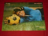 Sepp Maier - Poster - signiert - Autogramm - Bayern München - Kicker