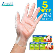 Ansell Handy Fresh Disposable Gloves 120 pcs x 5pk