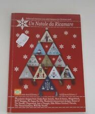 Un Natale da Ricamare 2008 Red Book Cross Stitch Counted Thread Christmas Charts