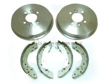 PEUGEOT 406 1.6 1.8 1.9D 2.0 HDI DIESEL REAR 2 BRAKE DRUMS & SHOES NEW SET