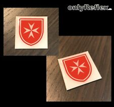 Malteser Logo 3D Magnet  Pin