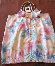 DESIGNER ROXY GIRLS STRAPPY SUMMER TOP AGE 11 12 YRS FLORAL MULTI PASTEL COLOURS