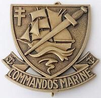 insigne de béret des Forces Spéciales / COMMANDOS MARINE Armée Française