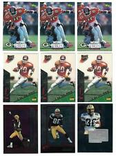 Antonio Freeman 1995 Rookie Lot (7) & Other Inserts & Trophy Collection