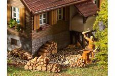 FALLER 180940 HO 1/87 6 Petites piles de bois de chauffage - 6stacks of firewood