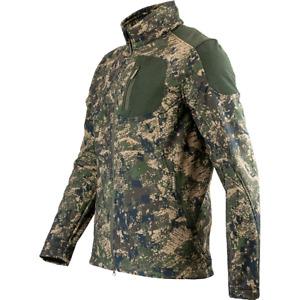 Jack Pyke Softshell Jacket Mens S-3XL Soft Shell Hunting Coat Army Digicam Camo