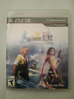 Final fantasy x/x-2 hd remaster (Playstation 3 PS3, 2014) Complete With Manual
