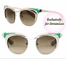 4c9842c6fb PRADA Gradient Green Sunglasses for Women for sale