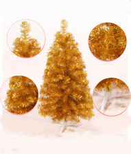 Gold 4 5 6 7 Feet Tall Artificial Christmas Tree Pine Tree with Metal Legs