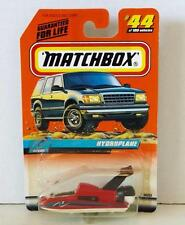 MATCHBOX HYDROPLANE #44 MINT ON CARD RED 1999