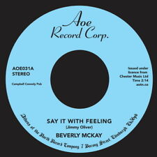 """Beverly McKay – Say It With Feeling / Conscience 7"""""""