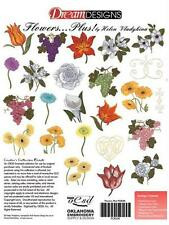Bernina Artista Embroidery Machine Memory Card Flowers....Plus