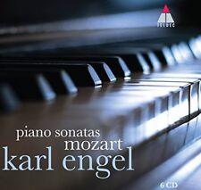 Karl Engel - Mozart : The Piano Sonatas [CD]