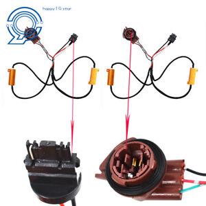 2x 3157 4157 Load Resistor For Switchback LED Turn Signal Light Hyper Flash Fix