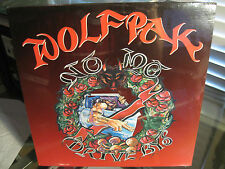 "WOLFPAK ""No Mo Drive Bys"" West Coast G Rap 1994 SEALED d"