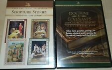 SCRIPTURE STORIES DVD AND DOCTRINE AND COVENANTS DVD. CHURCH OF JESUS CHRIST DVD