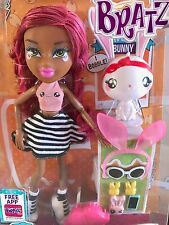 NEW Bratz Dolls Sasha InstaPets Toys for age 5+ My Perfpet Bunny Red Pink hair