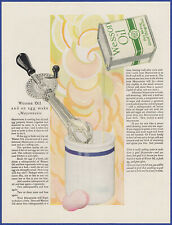 Vintage 1926 WESSON OIL Kitchen Art Décor Mayonnaise 20's Print Ad
