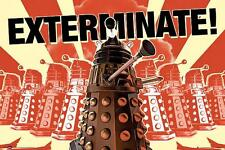 Doctor Who Daleks : Exterminate - Maxi Poster 91.5cm x 61cm (new & sealed)