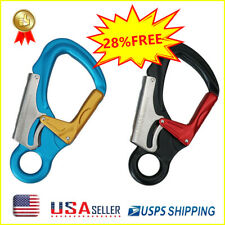 NEW Aluminum Alloy Carabiner Clip Hooks Climbing Safety Outdoor Camping Tool US
