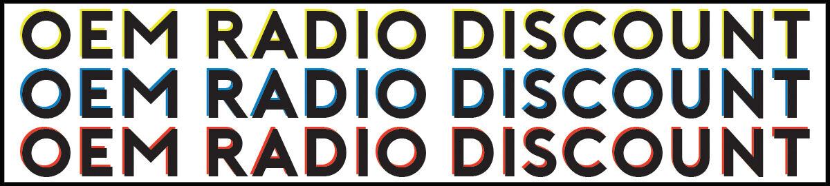 OEM Radio Discount