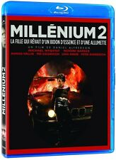 Millenium 2 (Blu-ray French) Noomi Rapace, Michael Nyqvist NEW
