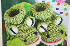 Baby Bootees Knitting Pattern