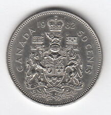 CANADA 1982 50 cent-Elizabeth II 2nd portrait  KM#75  R.936