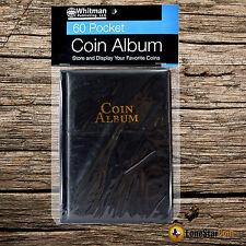 Whitman 60 Pocket Mini Coin Album Wallet for 2x2 Flips Holders