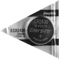 Energizer CR2430 (ECR2430BP) Lithium Coin 3V Battery, PK-1, Super Fresh - Tested