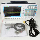 """Newest firmware OWON 100Mhz Oscilloscope SDS7102 1G/s large 8"""" LCD low-noise USA"""