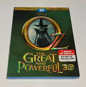 DISNEY blu-ray BRAND NEW SEALED - OZ The Great and Powerful 3D   Blu-ray 3D 2013